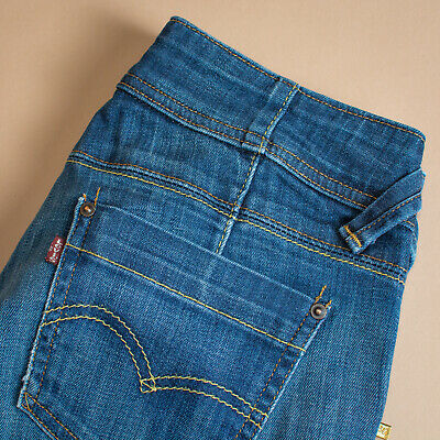 Vintage Levi Jeans Twisted Engineered Blue Zip Fly Men's (PatchW30L34) W 30 L 34