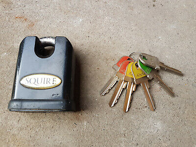 Squire SS65CS Stronghold Padlock 19mm Close Shackle Cheapest on eBay RRP £100