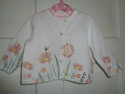 Mothercare Pretty Floral Cardigan - 3-6 Months