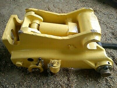 Attache rapide / coupleur hydraulique Caterpillar tractopelle / backhoe