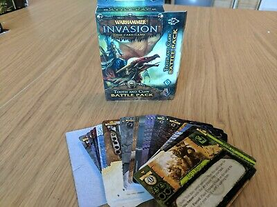 Warhammer invasion Tooth and Claw - Corruption cycle booster expansion