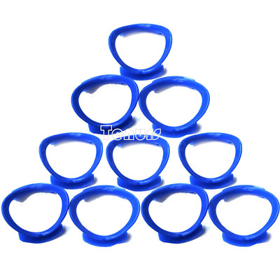 10XBlue Dental Orthodontic  O-shape Lip Cheek Retractor Teeth Mouth Opener