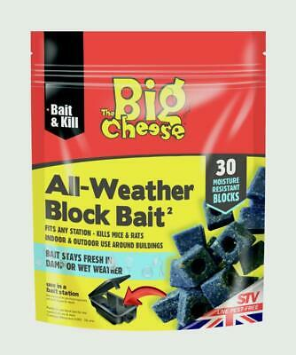 All Weather Block Bait 30 x 10g The Big Cheese