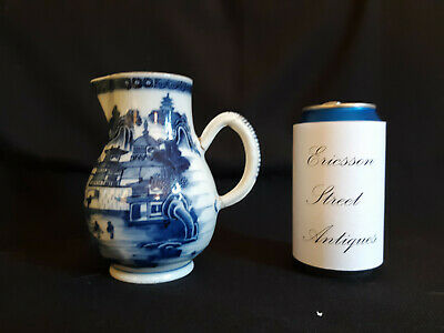 18th Century Chinese Export Blue and White Nanking Jug