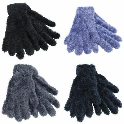 Womens Ladies Undercover Thermal Winter Feather Magic Gloves