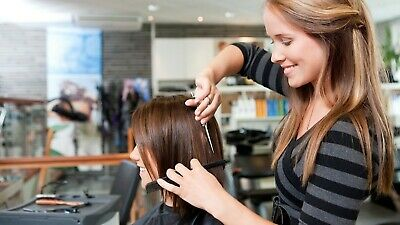 Hairdressers Cape Cutting Trimming  Coloring Hair Cape Colour Black Pink Grey