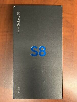 Samsung Galaxy S8 SM-G950U - 64GB - Midnight Black (Verizon)