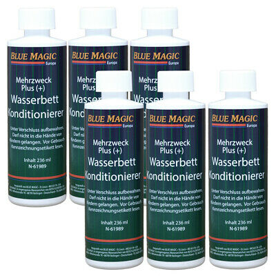 Blue Magic Wasserbett Conditioner Konditionierer Wasserbetten Zubehör 6x 236ml