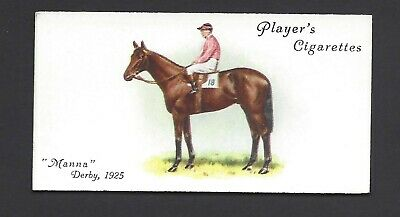 Player - Derby And Grand National Winners - #18 Manna