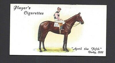 Player - Derby And Grand National Winners - #25 April The Fifth