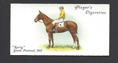Player - Derby And Grand National Winners - #45 Sprig