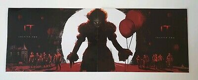 NEW Official IT Chapter 2 Odeon Posters 1 & 2 Stephen King film movie poster set