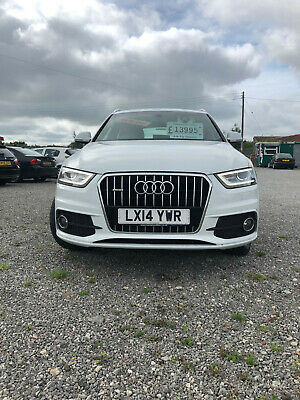 2014 Audi Q3, Quattro, S Line, 2.0 TDI, 2 Owners, Low Mileage, 177PS