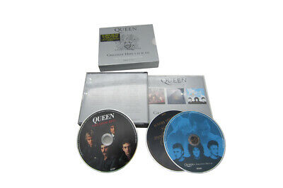 """3 CD Box Set The Queen """"Greatest Hits I II & III 1-3 (The Platinum Collection)"""""""