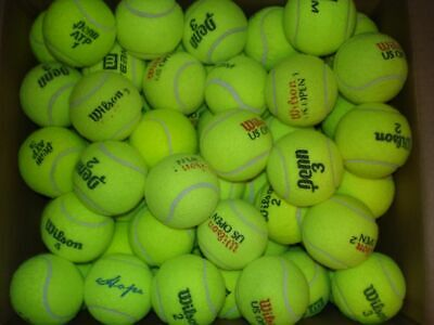 50 Used Tennis Balls...Lowest price on Ebay...Fast Free Shippin