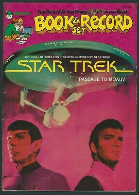 Star Trek: Passage To Moauv Peter Pan 1979 Colour Graphic Novel Good+ Condition