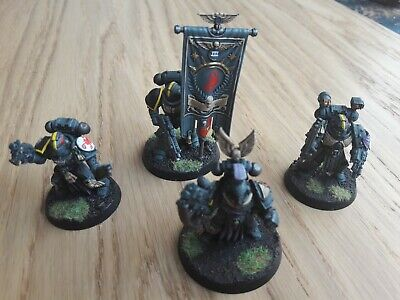 Games Workshop Forgeworld 40K Space Marine Red Scorpion Company Command