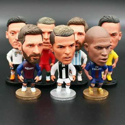 "NEW Collectible Football Action Figure Toy 2.55"" Footballer Dolls"