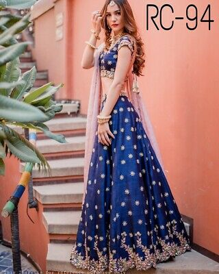 Choli Lehenga Indian Lengha Wedding Wear Pakistani Designer Sari S Women Ma
