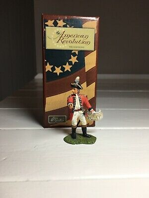 William Britains American Revolution Continental Line Officer Charging 17957