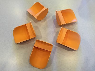 Tupperware New Rnd Flour Rocker Scoop Scoops Orange