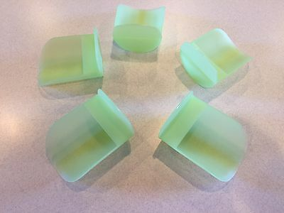 Tupperware New Rnd Flour Rocker Scoop Scoops Sheer Lime Green
