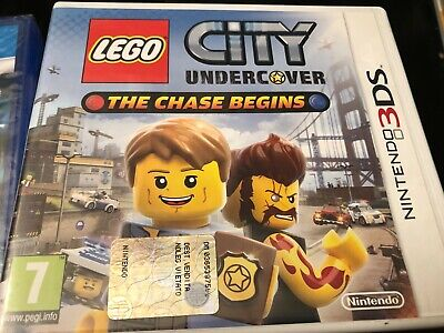 Nintendo 3Ds - Lego City - Undercover - The Chase Begins
