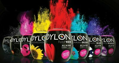 DYLON Machine Dye Pod Fabric Wash - Full Range of Colours Available 3 X 350g