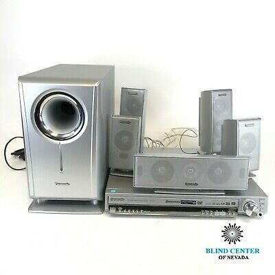 Panasonic SC-HT720 5.1 Channel Home Theater System No Remote