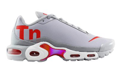 Nike Air Max Plus TN SE Mens Sz: 9  'Speed Red / Grey' Athletic Sneaker / Shoes