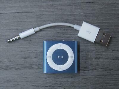Apple iPod Shuffle 4th Generation 2GB MP3 Player A1373 Blue Tested