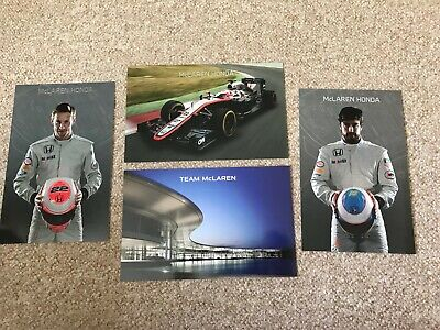 Mclaren Honda F1 2015 Team Membership pack incl. Button & Alonso Driver Cards