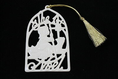 Lenox The First 1st Noel Songs of Christmas Holiday Ornament Last in Series 9th