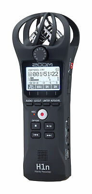 Zoom H1n Portable Handy Recorder with Microphone - Black