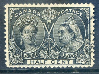 Canada 1897 Jubilee ½c reasonale centring and very fine used (Ref:2019/09-15#04)
