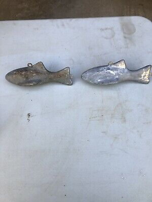 New 2.5 lb Lead Fish shaped Downrigger weight