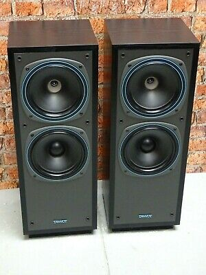 Pair Tannoy DC2000 Bi-Wire Dual Concentric Driver Floor Standing Loud Speakers