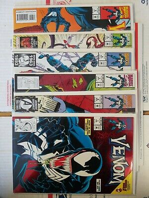 Venom Lethal Protector 1,2,3,4,5,6 set VF/NM FREE Priority Shipping