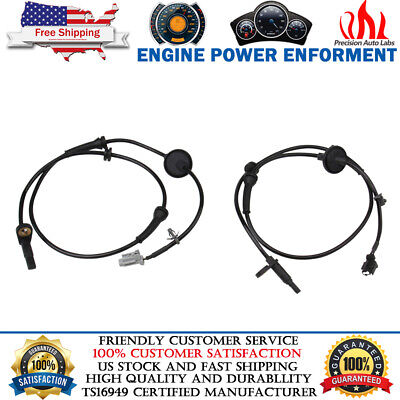 ABS Wheel Speed Sensor Front Left /& Right Set 2 For 2003-08 Nissan Murano 3.5L