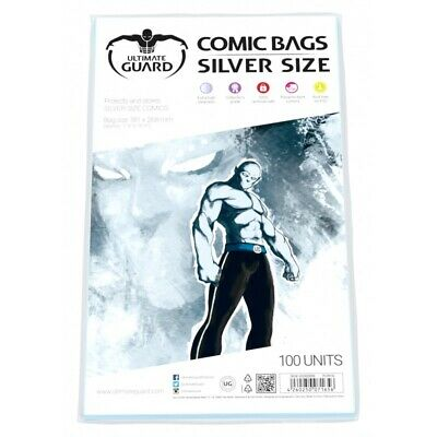 Ultimate Guard - Comic Bags - Silver Size (100)