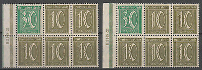 Germany - 1921 Inflation Booklet pains Mi# 36A/36B - MNH (7062)