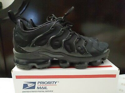 Nike Air Vapormax Plus - triple black - 924453 004 - men size 8.5