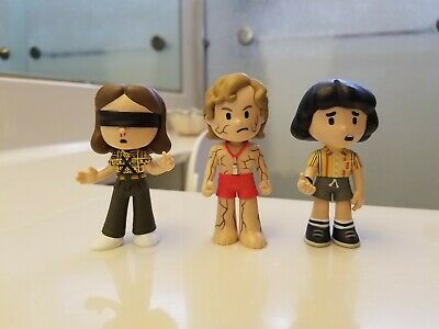 3x Funko Mystery Minis - Netflix Stranger Things - Flayed Billy, Mike & Eleven!
