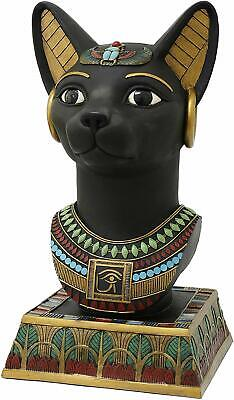 Ebros Gift Large 18 Inch High Egyptian Bastet Bust Resin Statue