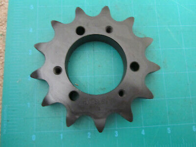 "New Tsubaki Sprocket, H80Sds13, 13 Tooth, 2-1/8"" Bore, Chain Sprocket, N.o.s."