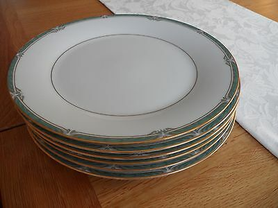 Noritake Dinner Plates Four Glenabbey Vintage Rare & Collectable Excellent Cond