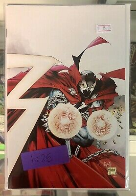 SPAWN #300 CAPULLO & MCFARLANE VIRGIN VARIANT 1:25 limited IMAGE comics NM 2019