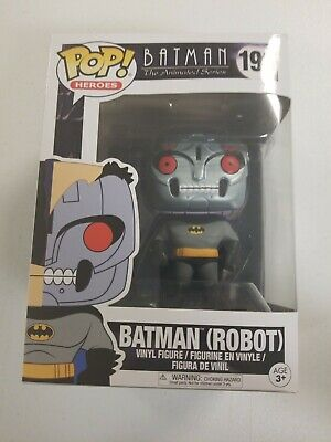 Funko POP! Animation #193 Batman Robot Chase W/Protector