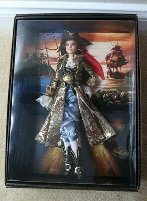 The Pirate Barbie Gold Label Collector Doll 2007 NRFB