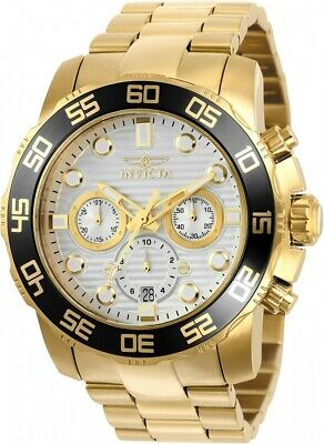 Invicta 22229 Pro Diver 50MM Men's Scuba Gold-Tone Stainless Steel Watch